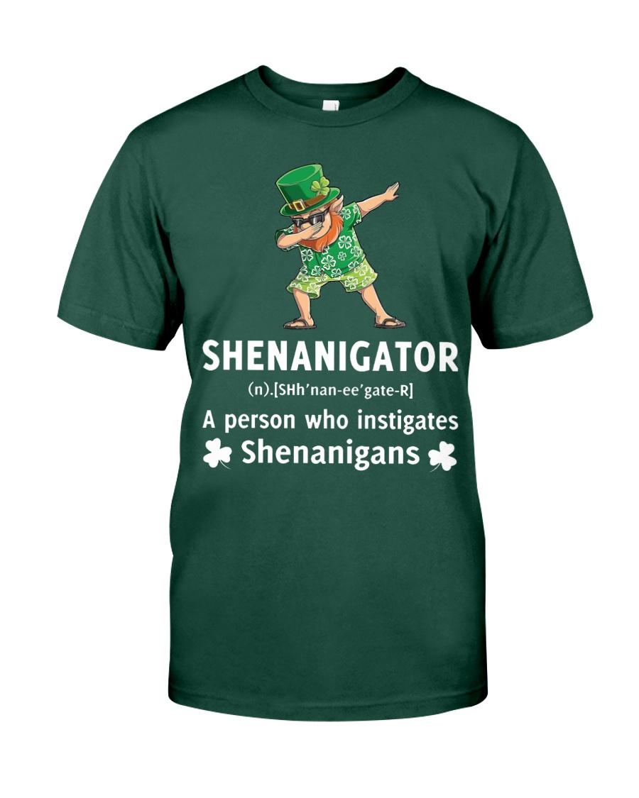 Shenanigator Dabbing Premium Fit Mens Tee