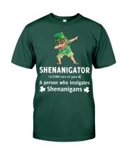 Shenanigator Dabbing Premium Fit Mens Tee front