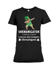 Shenanigator Dabbing Premium Fit Ladies Tee tile