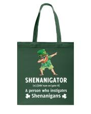 Shenanigator Dabbing Tote Bag thumbnail