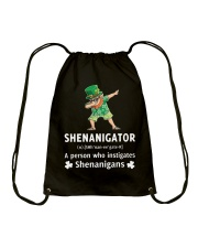 Shenanigator Dabbing Drawstring Bag thumbnail
