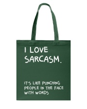 I Love Sarcasm Tote Bag thumbnail