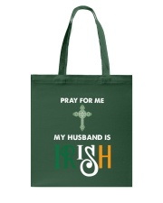 My Husband is Irish Tote Bag thumbnail