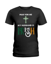 My Husband is Irish Ladies T-Shirt thumbnail