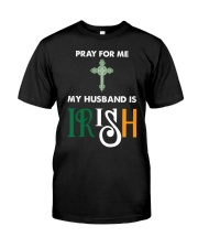 My Husband is Irish Classic T-Shirt front