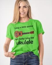 Funny Ukulele Pun Classic T-Shirt apparel-classic-tshirt-lifestyle-front-100