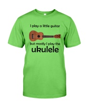 Funny Ukulele Pun Classic T-Shirt front