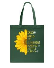 Irish Girls Stronger Braver Tote Bag thumbnail