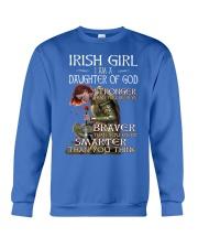 Irish Girls Stronger Braver Crewneck Sweatshirt thumbnail