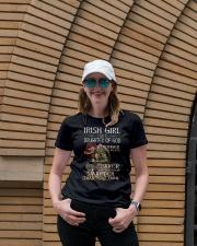 Irish Girls Stronger Braver Premium Fit Ladies Tee lifestyle-women-crewneck-front-4