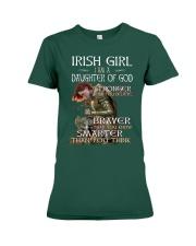 Irish Girls Stronger Braver Premium Fit Ladies Tee tile