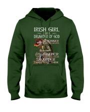 Irish Girls Stronger Braver Hooded Sweatshirt thumbnail