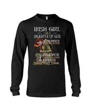 Irish Girls Stronger Braver Long Sleeve Tee thumbnail
