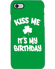 Kiss Me It's My Birthday Phone Case thumbnail