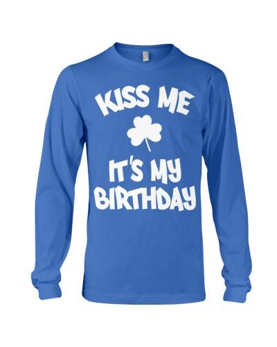 Kiss Me It's My Birthday