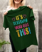 It's Test Day You Got This Funny Teacher Student Classic T-Shirt apparel-classic-tshirt-lifestyle-front-117