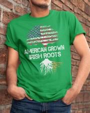 American Grown Irish Roots Classic T-Shirt apparel-classic-tshirt-lifestyle-26