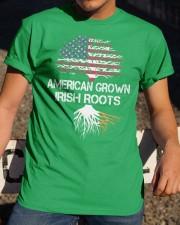 American Grown Irish Roots Classic T-Shirt apparel-classic-tshirt-lifestyle-28