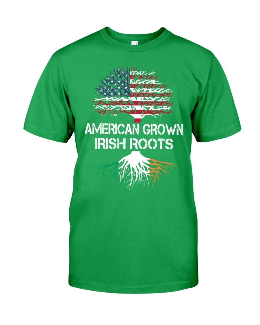 American Grown Irish Roots Classic T-Shirt