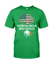 American Grown Irish Roots Classic T-Shirt front