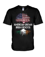 American Grown Irish Roots V-Neck T-Shirt thumbnail