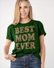 Best Mom Ever Leopard Plaid Mother's Day Mama Classic T-Shirt apparel-classic-tshirt-lifestyle-front-100