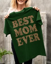 Best Mom Ever Leopard Plaid Mother's Day Mama Classic T-Shirt apparel-classic-tshirt-lifestyle-front-117