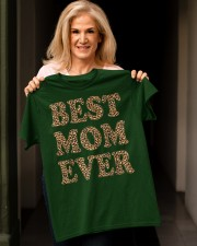 Best Mom Ever Leopard Plaid Mother's Day Mama Classic T-Shirt apparel-classic-tshirt-lifestyle-front-118