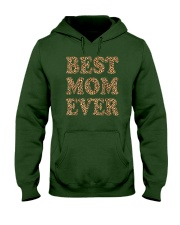 Best Mom Ever Leopard Plaid Mother's Day Mama Hooded Sweatshirt tile
