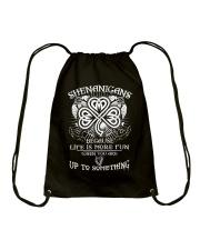 Shenanigans Drawstring Bag thumbnail