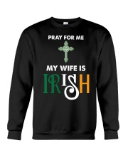My wife is Irish Crewneck Sweatshirt thumbnail