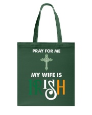 My wife is Irish Tote Bag thumbnail