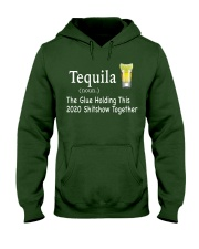 Tequila Glue 2020 Hooded Sweatshirt front
