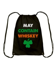 May Contain Whiskey Drawstring Bag thumbnail