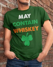 May Contain Whiskey Classic T-Shirt apparel-classic-tshirt-lifestyle-26
