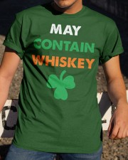 May Contain Whiskey Classic T-Shirt apparel-classic-tshirt-lifestyle-28
