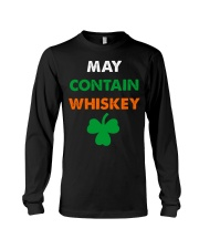 May Contain Whiskey Long Sleeve Tee thumbnail