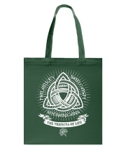 Trifecta of life Tote Bag tile