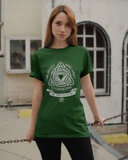 Trifecta of life Classic T-Shirt apparel-classic-tshirt-lifestyle-19