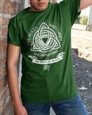 Trifecta of life Classic T-Shirt apparel-classic-tshirt-lifestyle-27