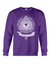 Trifecta of life Crewneck Sweatshirt tile