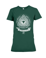 Trifecta of life Premium Fit Ladies Tee tile