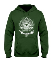 Trifecta of life Hooded Sweatshirt thumbnail
