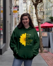 Irish Girls Sunshine Hooded Sweatshirt lifestyle-unisex-hoodie-front-2