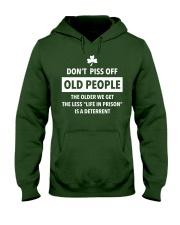 Old People Gift Hooded Sweatshirt front