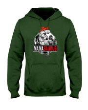 Mothers Day Mamasaurus T rex Dinosaur Funny Mama Hooded Sweatshirt tile