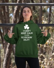I Can't Keep Calm I'm Irish Hooded Sweatshirt apparel-hooded-sweatshirt-lifestyle-05