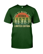 Born October 1979 Limited Edition Bday Gifts 40t Classic T-Shirt thumbnail