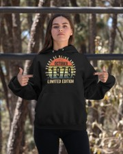 Born October 1979 Limited Edition Bday Gifts 40t Hooded Sweatshirt apparel-hooded-sweatshirt-lifestyle-05