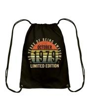 Born October 1979 Limited Edition Bday Gifts 40t Drawstring Bag thumbnail